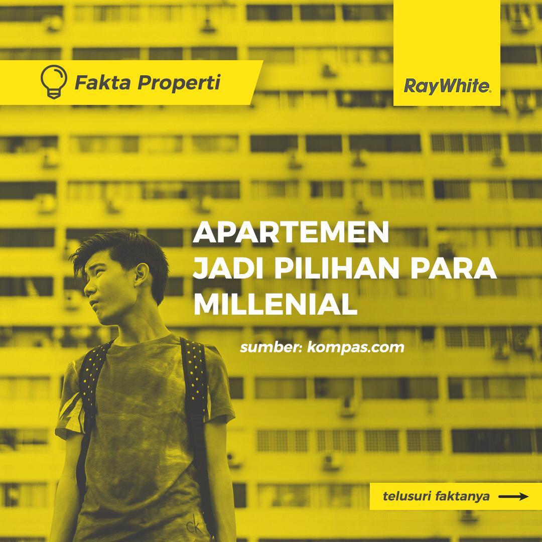 Apartemen jadi pilihan para millenial