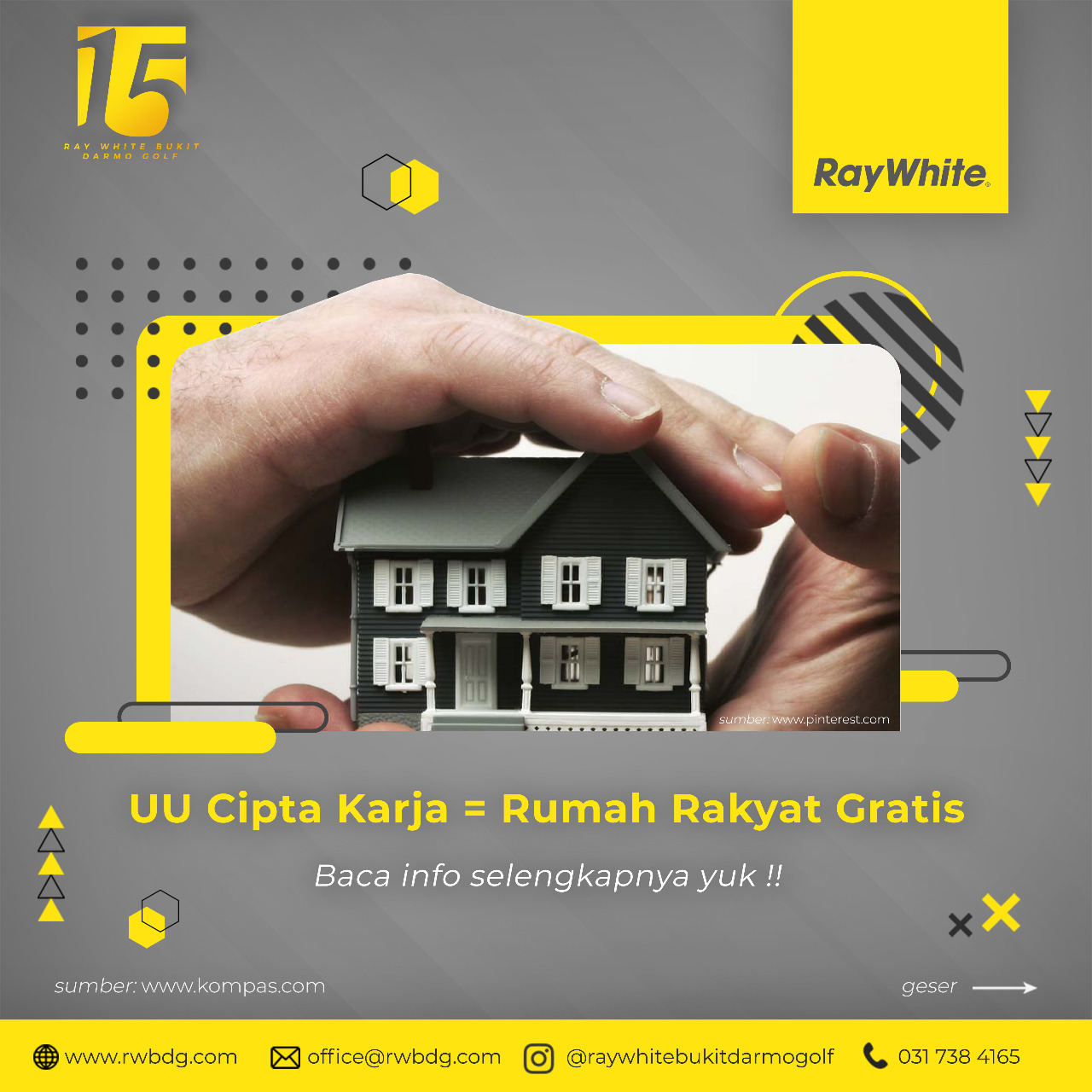 UU Cipta Karja Allows the State to Provide Free People's Homes
