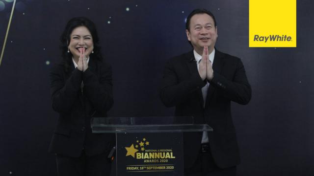 RAY WHITE INDONESIA GELAR NATIONAL & REGIONAL BIANNUAL AWARDS 2020 SECARA VIRTUAL