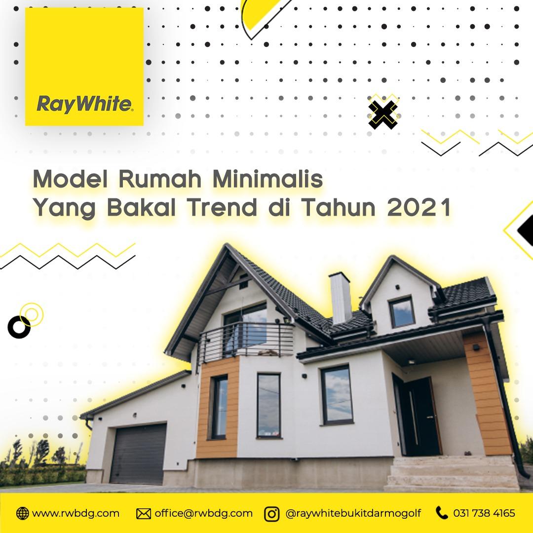 Model Rumah Minimalis yang Bakal Tren di Tahun 2021