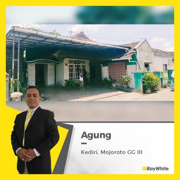 Rumah Luas Dijual di Kediri Jl. Mojoroto pusat kota kediri