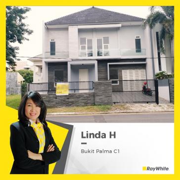 Rumah Bagus, Siap Huni di Bukit Palma Blok C, Surabaya Barat