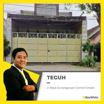 Rumah Cerme Nol Raya Cocok Untuk Usaha Jl. Gurang Anyar Gresik