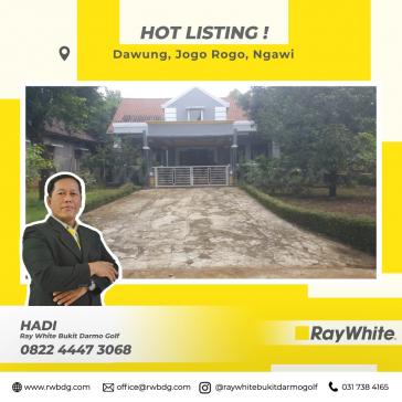 Rumah Luas Dijual di Ngawi Harga Murah sekali