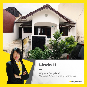 Rumah Dijual dan di sewakan di Wiguna Tengah, Gunung Anyar Tambak Surabaya