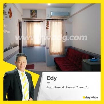 Apartemen Full Furnish View Pool, Puncak Permai Tower A