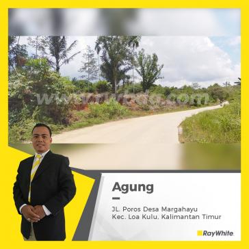 Dijual Tanah di Margahayu Kutai Katranegara Kalimantan Timur calon  DKI