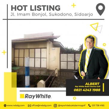 Rumah & Tempat Usaha Pinggir Jalan Raya di Jl. Imam Bonjol Sukodono